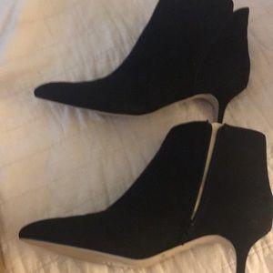 Jessica Simpson black ankle booties